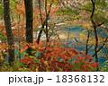 厳美渓 紅葉 風景の写真 18368132
