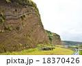 伊豆大島 大島 地層断面の写真 18370426