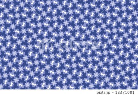 カモフラージュ ブルー 18371081
