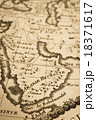 アンティークの世界地図  18371617