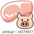 豚ロース肉 18379657