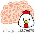 鶏ミンチ肉 18379675
