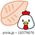 鶏もも肉 18379676