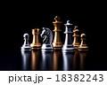 チェス 駒 ボードゲームの写真 18382243