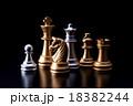 チェス 駒 ボードゲームの写真 18382244