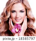 Woman Hair Blond Sexy Model 18385797
