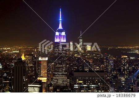 ニューヨークの夜景 18386679