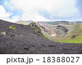 岩手山山頂と火口 18388027