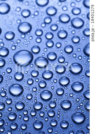 Water background, fresh blue theme