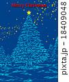 クリスマスポスター 18409048