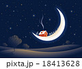 Christmas moonlit night 18413628