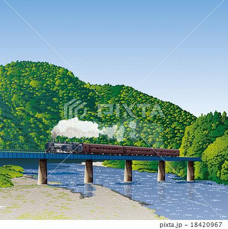 蒸気機関車 18420967