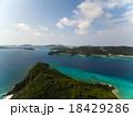 空撮 海 座間味島の写真 18429286