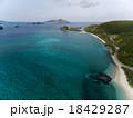 空撮 海 座間味島の写真 18429287