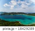 空撮 海 座間味島の写真 18429289