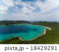 空撮 海 座間味島の写真 18429291