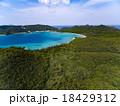 空撮 海 座間味島の写真 18429312