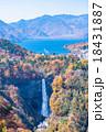 【紅葉最盛期】栃木県日光市・明智平展望台からの眺め 18431887