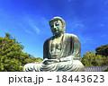鎌倉大仏の秋晴れ 18443623