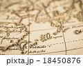 アンティークの世界地図 台湾と琉球  18450876