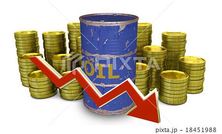 the price of fuel decreasesのイラスト素材 [18451988] - PIXTA