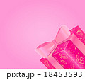 Shiny Pink Gift Box with Bow 18453593
