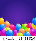 Bright Balloon Frame Background 18453626