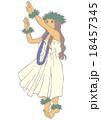 フラダンス 18457345