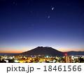桜島の夜明け。金星、木星、火星、水星① 18461566