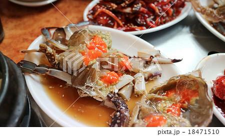 韓国の蟹の醤油漬け(ケジャン) 18471510