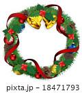 クリスマスリース 18471793