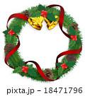 クリスマスリース 18471796