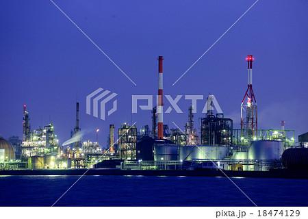 岩国工業地帯の夜景 18474129
