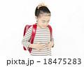 腹痛 吐き気 女の子 小学生 苦しい 苦しむ 痛い ランドセル 18475283