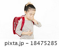 腹痛 吐き気 女の子 小学生 苦しい 苦しむ 痛い ランドセル 18475285
