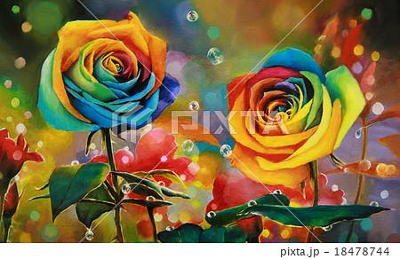 虹薔薇 18478744