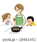 子ども 人物 親子のイラスト 18481451
