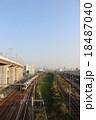 線路 大阪 電車の写真 18487040