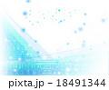 グラデーション 背景用素材 輝くのイラスト 18491344