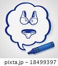 underwear doodle 18499397