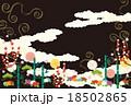 松竹梅 和柄 模様のイラスト 18502865