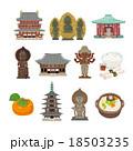 奈良イラスト 18503235