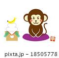 猿 申 ベクターのイラスト 18505778