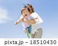 公園で母親に抱かれる息子 18510430