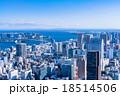 【空気の澄んだ】東京都市風景 18514506