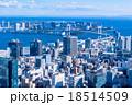 【空気の澄んだ】東京都市風景 18514509