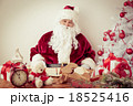 Santa Claus at home 18525416