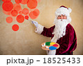 Santa Claus painter 18525433