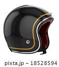 オートバイ 単車 ヘルメットのイラスト 18528594