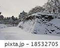 弘前城 冬 城の写真 18532705